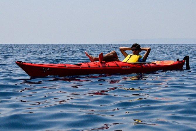 Half-Day Sea Kayaking Activity in Stoupa and Kardamili, Kalamata, GRECIA