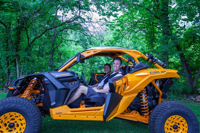 We offer only the best in Can-am experiences. Our Can-am's are top of the line and are available nowhere else in the Smoky Mountains. Our Full Day rental is the longest in the area. Your adventure starts right at your doorstep. We deliver and pick up at your accommodation. There's no need to travel and wait in traffic!
