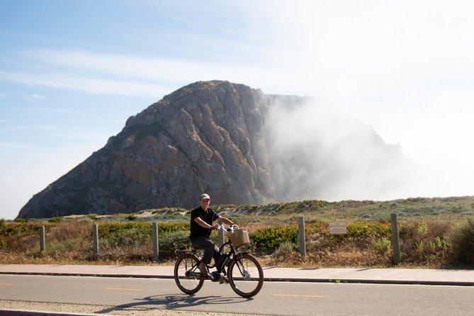 Our Private Electric Bike Tour of Morro Bay will take you through the best bike routes, historical landmarks, and viewpoints of Morro Bay! This bike tour will allow you to check off multiple must-see spots of the central coast. The private tour can be tailored to you and your group's desires and will allow your group to have a custom and personable experience. Don't forget your camera as there will be plenty of photo opportunities. These fun and informative bike tours operate daily and are designed for all abilities.