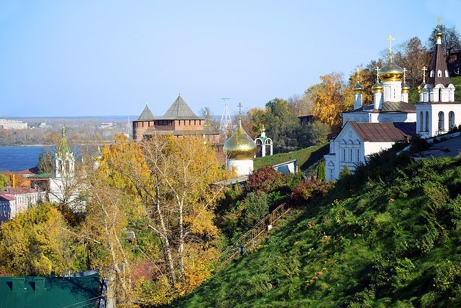 Together with the professional guide, you will visit the most charming places in the city. What Hollywood movies were filmed in Nizhny Novgorod?<br>You will have a chance to explore the city, while hearing fascinating facts and legends. What history hides the Nizhny Novgorod metro? Whose ghost can be met there? You will be surprised how many stories are hidden in the streets, buildings and corners of Nizhny Novgorod. Your charming guide will tell you what is special and unique about living in this city. Perfect for those who are visiting the city for the first time and want to get the most of it!