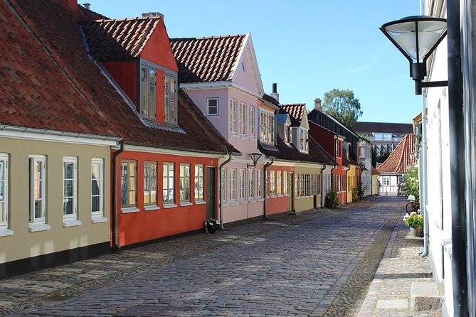 Together with the professional guide, you will visit the most charming places in the city. Explore our playfully city, Odense offers over 250 playgrounds, which means per every 804 inhabitants, there is at least 1 playground.<br>You will have a chance to explore the city, while hearing fascinating facts and legends. Cycling in Odense provides riders with 560 kilometres of bicycle paths, 123 cycle-only bridges and 65 cyclist tunnels. You will be surprised how many stories are hidden in the streets, buildings and corners of Odense. Your charming guide will tell you what is special and unique about living in this city. Perfect for those who are visiting the city for the first time and want to get the most of it!
