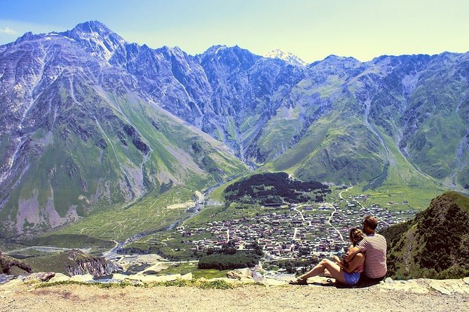 An exclusive tour for all the romantics of the world! Together with the professional local guide, you will visit the most romantic places in the city. Kazbegi or Stepantsminda is a town of breathtaking mountainous terrain, picturesque Caucasus scenery, often called the Georgian Paradise. You will feel spellbound in a charming atmosphere. What is considered as one of the best places to have a date in the city? Where can you make lovely photos? You will be surprised how many historical love stories are hidden in the streets, buildings, parks of the city. From heartbreaking and tragic, to the hilarious or spicy ones. What sacred relics and treasures are said to be buried in the caves of the ancient Betlemi monastery? How is the Mount Kazbek tied to the Greek Mythology and Prometheus? This tour is especially recommended in the Saint Valentine period!