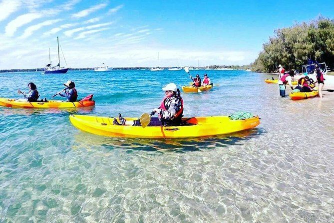 2.5hr Wave Break Island Kayaking, Bushwalking and Snorkelling Tour, Surfers Paradise, AUSTRALIA