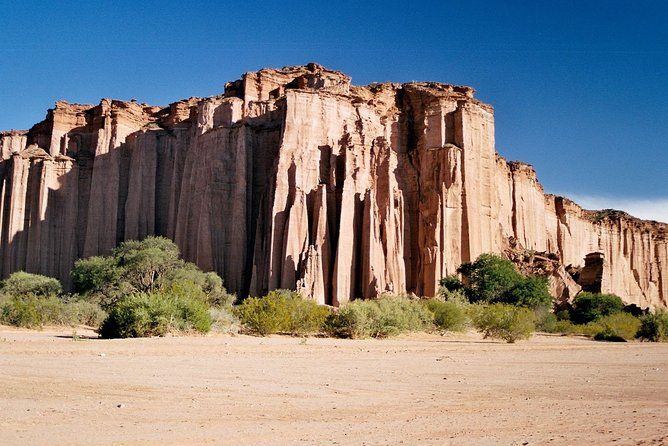 If you are traveling through Argentina you cannot miss the visit to the Talampaya National Park, a unique destination and outside of the conventional itineraries, which surprises with its formations and unusual soil characteristics.<br><br>The Talampaya Canyon is the most important and impressive attraction of the National Park. Here you can walk between huge reddish walls about 150 meters high, various geoforms (El Monje, La Torre, Etc.) and magnificent rock manifestations called geoglyphs.<br><br>We invite you to visit this wonderful place where you can make a circuit of your choice within the Park.