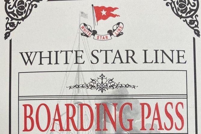 Skip the Line: Titanic - The Artifact Exhibition Ticket, Orlando, FL, ESTADOS UNIDOS
