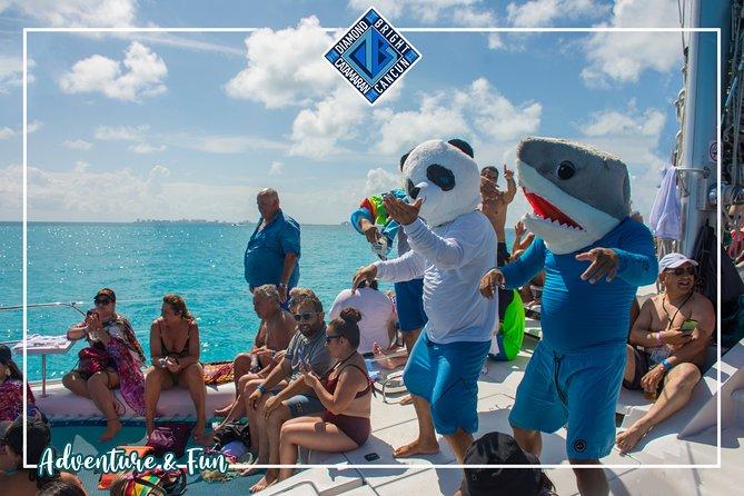 MORE PHOTOS, Luxury Catamaran tour to isla mujeres with transportation from Tulum