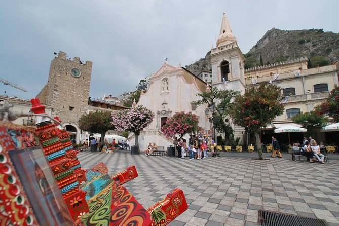 Transfer Cefalù to Taormina con visita di Piazza Armerina per gruppi individuali, Cefalu, ITALIA