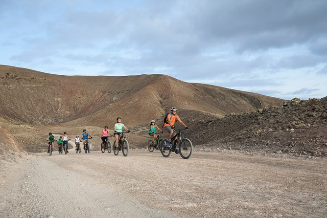 A unique way to discover fuerteventura, small scale groups, perfect for families, couples or individuals, for all levels and ages. Ebikes are easy to ride, it's a perfect balance between activity and fun. not to heavy, yet sportive. you will return energised!
