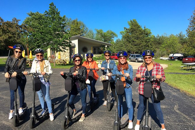 Electric Scooter Guided Nature Glide – Fish Creek, Green Bay, WI, ESTADOS UNIDOS