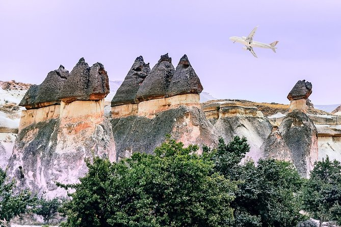 Perhaps you have long dreamed of visiting Cappadocia and did not dare to do it because of the long journey. One day tour by flight is going to be a unique opportunity to realize this dream. Direct flight from Antalya to Cappadocia will take you to the 'land of beautiful horses'. Visit Kaymakli underground city, Goreme open-air museum, Pigeon valley and Pasabag.