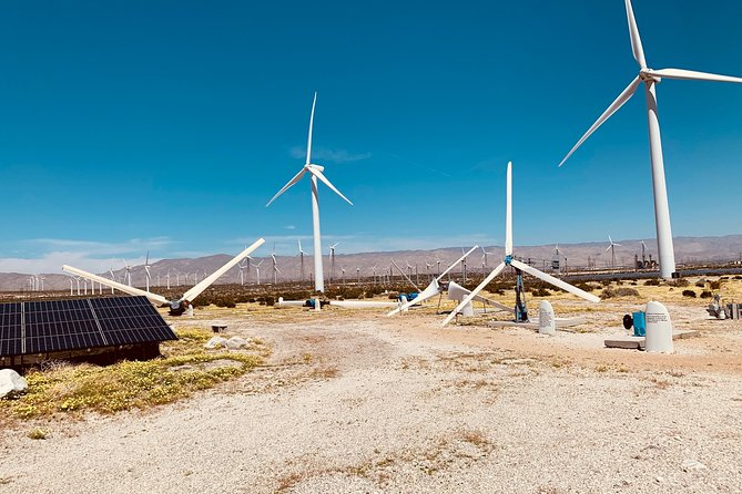 Palm Springs Windmill Tours self-driving tours interactive, safe & fun., Palm Springs, CA, ESTADOS UNIDOS