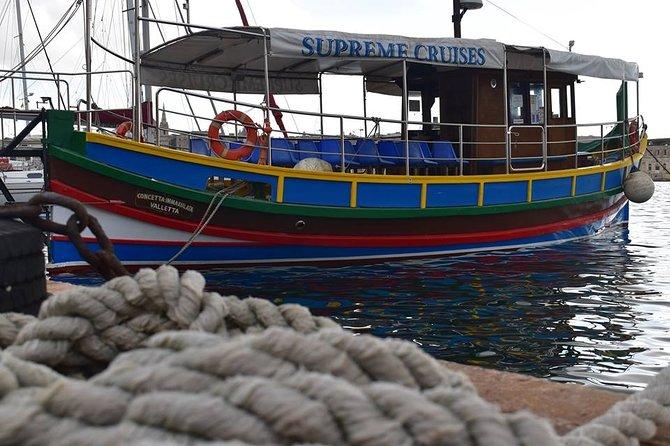 La Valetta y el Crucero por el Puerto de las Tres Ciudades, ,