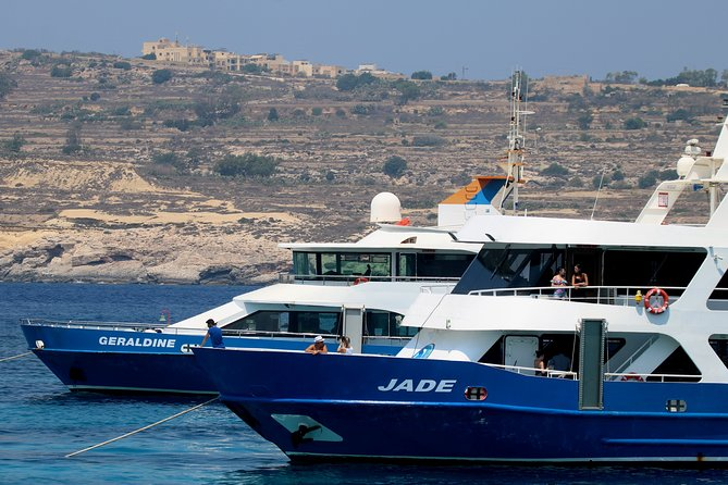 Comino and Blue Lagoon Cruise including Open Bar, ,