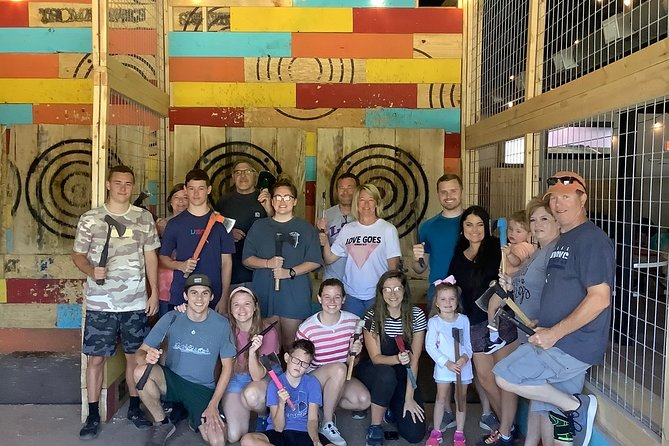 Axe throwing is on the rise here in America and we're the first to offer a venue in McCurtain County. It's an energizing and inspirational experience that you won't soon forget.