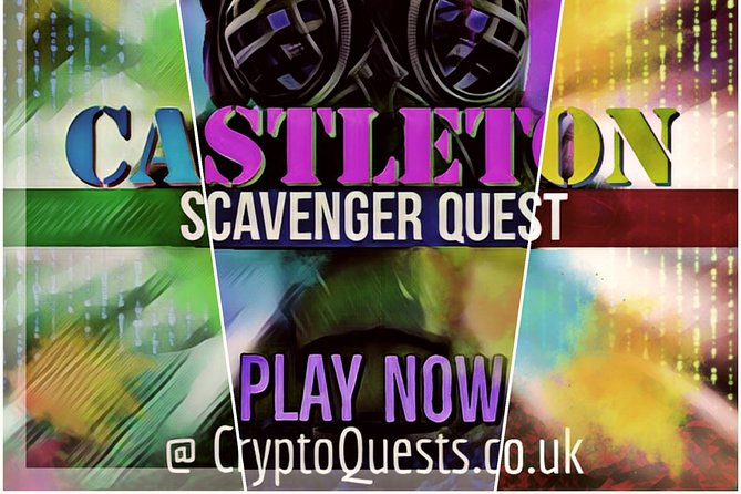 Crypto Quests presents a new type of scavenger hunt game to be played via your mobile device. A spy Mission themed scavenger Quest around the historic village of Castleton, in the Peak District, Derbyshire, UK.<br><br>With over 40 Challenges to complete and 8 locations to discover, this game is perfect for COVID social distancing activity for your household family. <br>