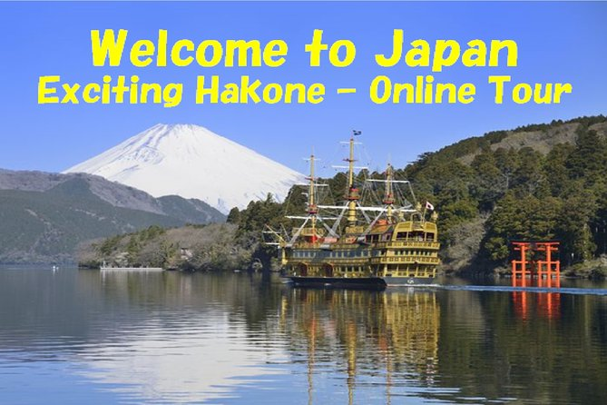 This is a two-way communication online virtual tour using Skype Conference System.<br>Based on the itinerary, some pictures and videos of sightseeing spots will be shown on your computer, and I will explain them.<br>Basically, we will visit several sightseeing spots in Hakone, but this tour is so flexible that we can change our itinerary depending on your interests.<br><br>Note<br>- Meeting time will be fixed as per discussion with you, because we need to consider time difference.<br>- Videos may not work smoothly, in case of bad connection.