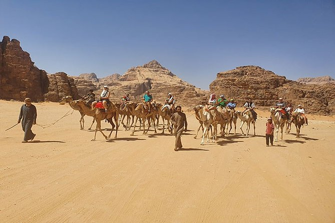 Tour de 8 Noches Lo Mejor de Jordania: Jerash, Petra, con Una Noche Wadi Rum, Aqaba y el Mar Muerto, Aman, JORDANIA