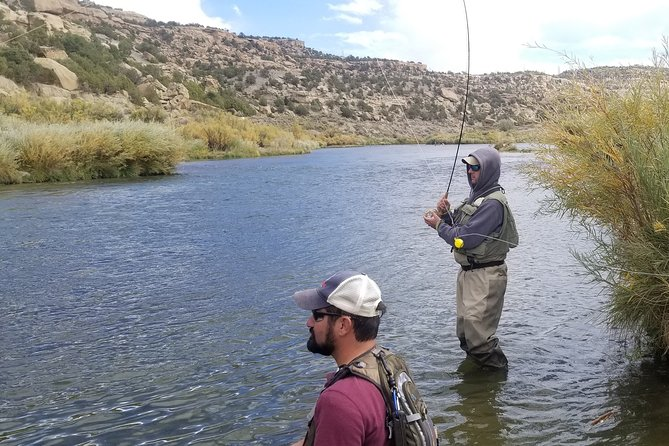 Our company provides a premier guided fishing experience on the San Juan River. You will have the opportunity to catch big fish. <br><br>No matter your experience level, we can help you be a better angler. Beginners are welcome. We love to teach new people the sport and discover a love for catching big fish. If you are an advanced angler, we can help you improve your skills and put you in the right spots to catch a big rainbow and brown trout of a lifetime.