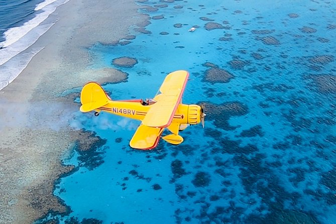 Seeing Saipan from a different perspective gives you a greater appreciation for life. Fly the historical way, in a newly built 1935 vintage style open-cockpit WACO biplane. A unique experience unlike anything else! You will become the richest person in the world by collecting priceless memories.
