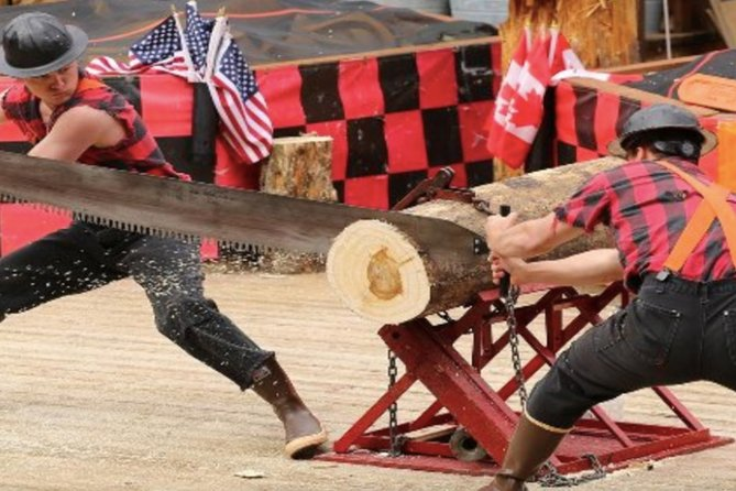 Join this unique experience, our guided tour gives you the once in a lifetime chance to see downtown Ketchikan, the Saxman Native Village, and the Great Alaskan Lumberjack Show. This shore excursions is full of history, culture and the frill of the Lumberjack competition during the famous Show.