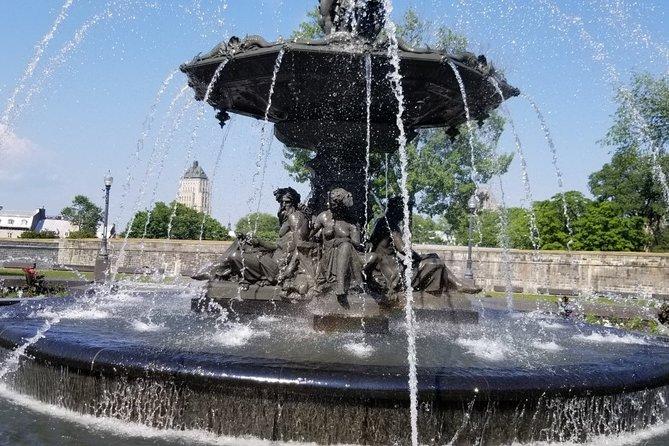 Visita guiada a pié de la antigua ciudad de Quebec., Quebec, CANADÁ