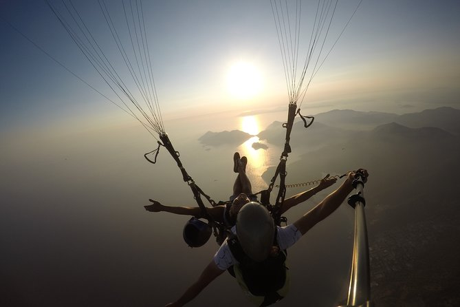Paragliding at Fethiye Oludeniz, Fethiye, TURQUIA