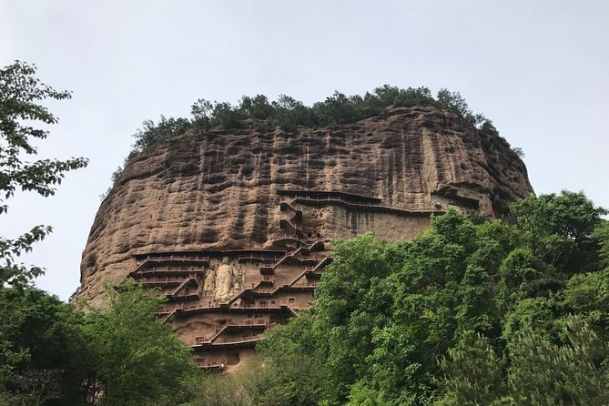 Private Day Tour to Tianshui Maiji Caves from Lanzhou by Round-way Bullet Train, Lanzhou, CHINA