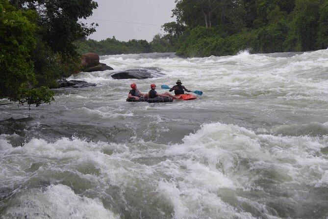 Private Whitewater Tubing in Bujagali Hydropower Plant, Jinja, UGANDA