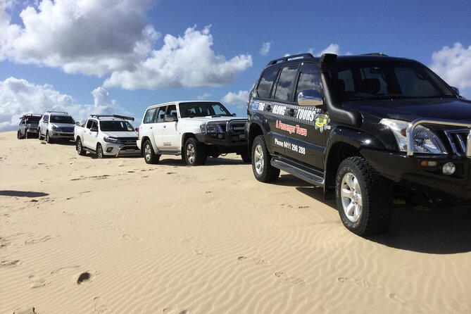 Learn how to drive your own 4WD in the Tomaree National Park and Stockton Sand Dunes safely and hassle free, with experienced and knowledgeable guides. The Tour lasts for three and half hours, National Park permits are included. Vehicles Must have low range.