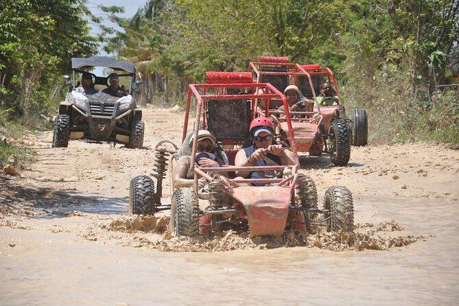 MÁS FOTOS, Aventura en Buggys + Playa macao y Cenote