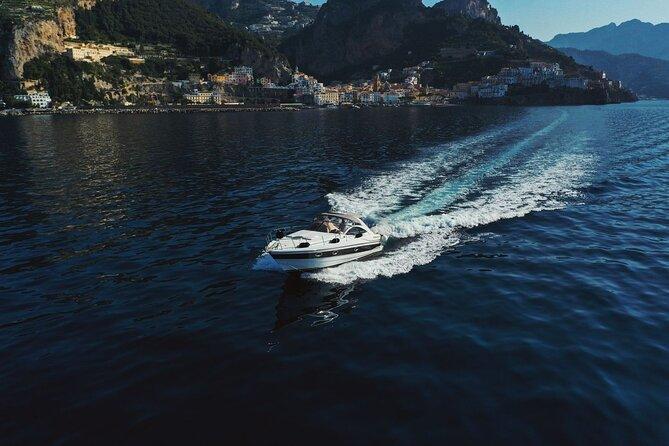 Private Full-Day Guided Boat Tour at the Amalfi Coast, Amalfi, ITALIA