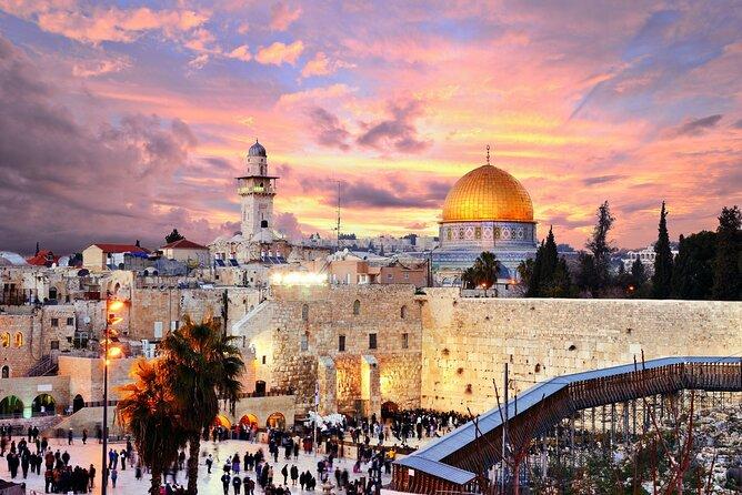 MAIS FOTOS, Descubra a Cidade Santa de Jerusalém em uma excursão particular de dia inteiro