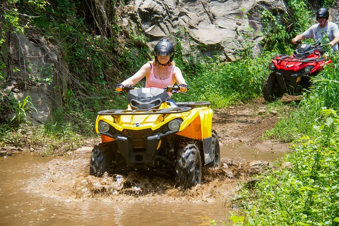 (SKU: LK80050200) This one-day tour gives you the chance to enjoy yourself with amazing ATV rides, forest hikes, and kayaking in a natural rock pool.