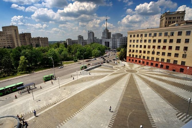 Enjoy an informative Kharkiv city tour with an expert local guide. You will visit all the main tourist sights and hear a lot of interesting information about the second capital of Ukraine.