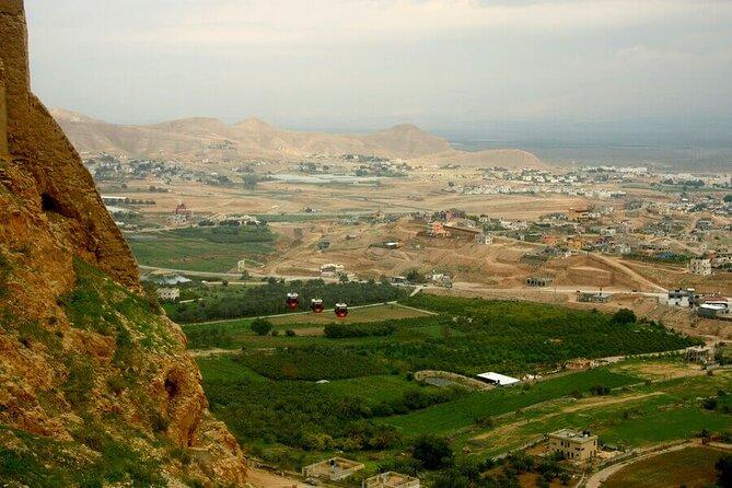 MÁS FOTOS, Jericho, the Jordan river & the Dead Sea from Jerusalem