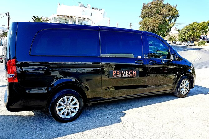 One Way Private Transfer within Mykonos Island with MINI BUS, Miconos, Greece