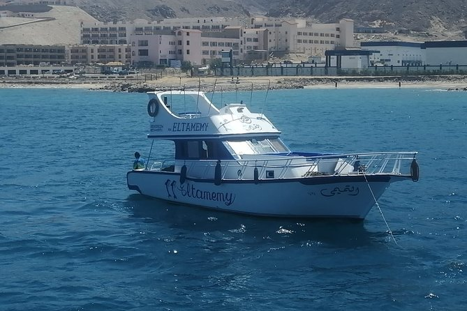 swimming in the red sea. fishing in your private yacht. snorkeling to see a coloring fish. You can use the kitchen to cook your fish