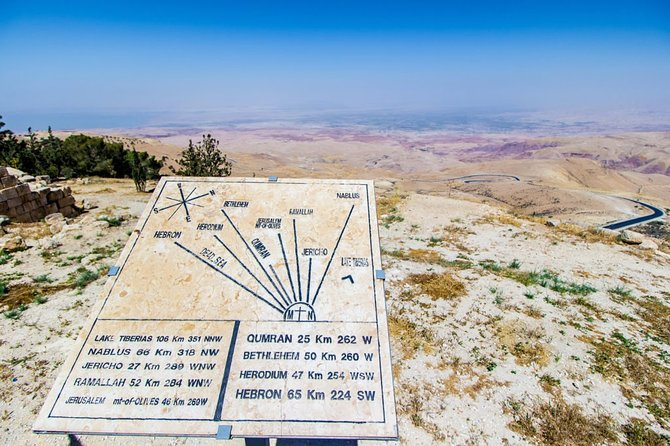 Madaba - Mount Nebo - Ma'in hot springs from amman or dead sea, ,