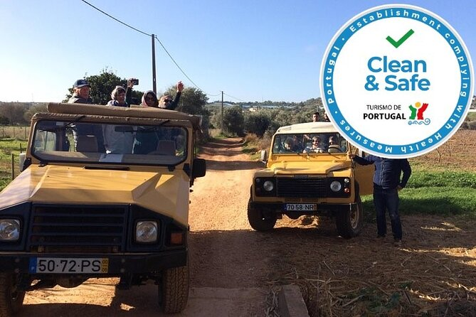 Visit the countryside of the Algarve on this full-day trip with Lunch Included!<br><br>• Directed by a professional multilingual Tour Guide <br>• Lunch Included<br>• Amazing Panoramic Guided Tour<br>• Cultural and Historic experience of the region<br>• Stops in Paderne, Messines and Alte<br>• Includes free time exploration<br><br>Enjoy this exciting off-road Jeep Safari tour, discover the Algarve's hidden beauties, the views from the hill tops and take that special photo. You will find the places lost in time and the ancient local handicraft. Your only opportunity to get a taste of Medronho (portuguese fire-water) and honey at it's place of origin. Learn about the villages, the local peoples way of life and secrets of the harvesting of the Cork trees. This trip includes Lunch.