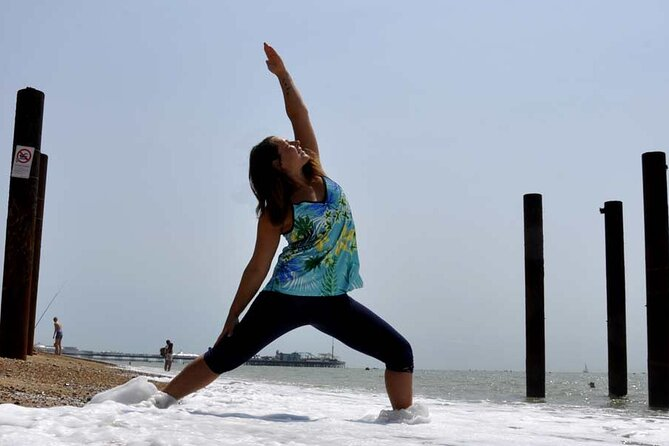 Add a little bit of flavor into your Brighton trip and join our outdoor yoga class with a view. An experience for both visitors and locals. There is no better way to start your evening. Practicing yoga outside adds a new dimension to your practice! The elements of nature turn every class into a creative and playful experience.<br><br>Enjoy a nice atmosphere, meet new people, and feel healthier and more balanced!<br><br>Hot weather, cold weather, rain, and wind!<br>There is no such thing as bad weather, there is only the wrong choice of clothing! Dressing in layers is the best way to keep warm for changing weather conditions! Most importantly, bring your scarf and your beanie head!