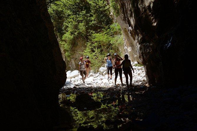 Ridomo Gorge hike to MANA spring, Kalamata, GRECIA