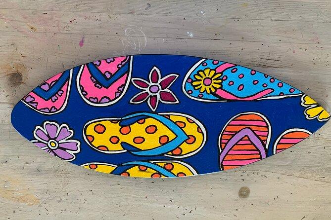 Souvenir Surfboard Paint Party at the Beach, Carlsbad, CA, ESTADOS UNIDOS