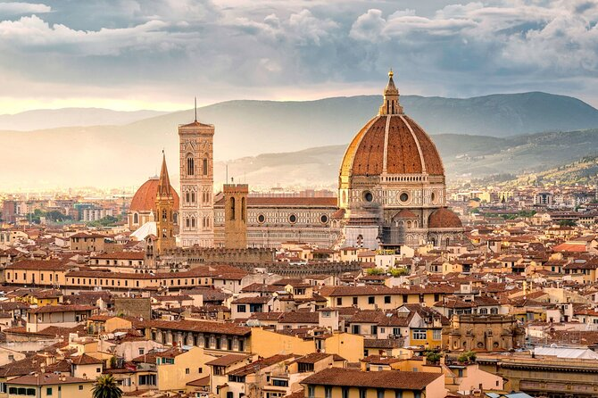 Explore some of the highlights of Tuscany, including a visit to Florence and a Chianti wine tasting, with this 8-hour trip from Montecatini. Travel in a comfortable minivan to see the sights.