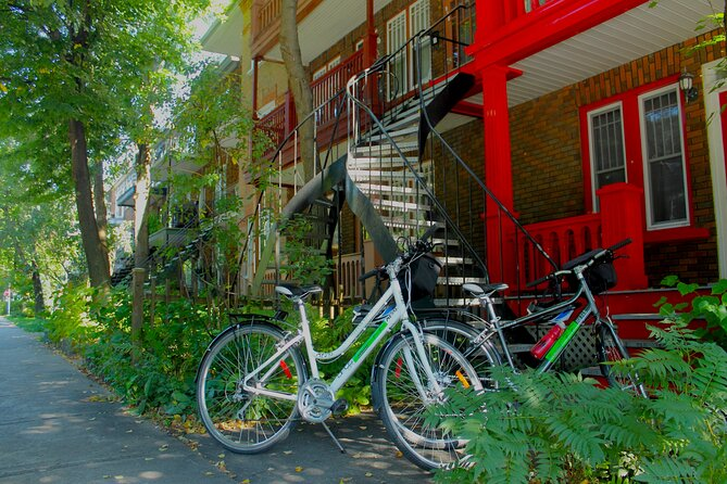 HIstorical Lower Town & Neighborhood Private Bike Tour, Quebec, CANADA