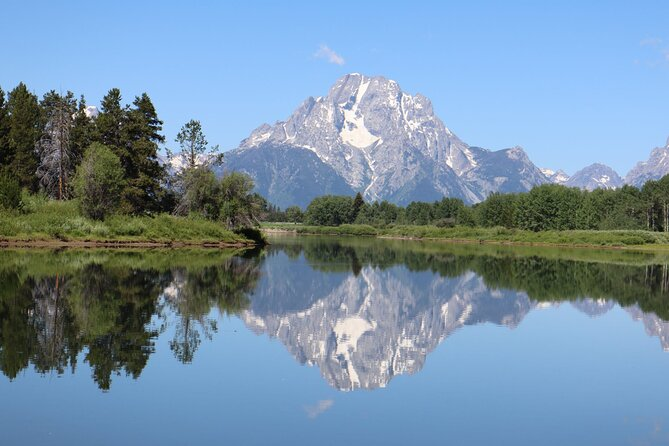 Guided day tours of Grand Teton National Park begin from Jackson Hole (Teton Village), Jackson Wyoming and you will go to Flat Creek, Kelley, Mormon Row, Glacial View Turnout, Oxbow Bend Turnout, Jackson Lake, Jenney Lake scenic drive, and Moose Wilson road.
