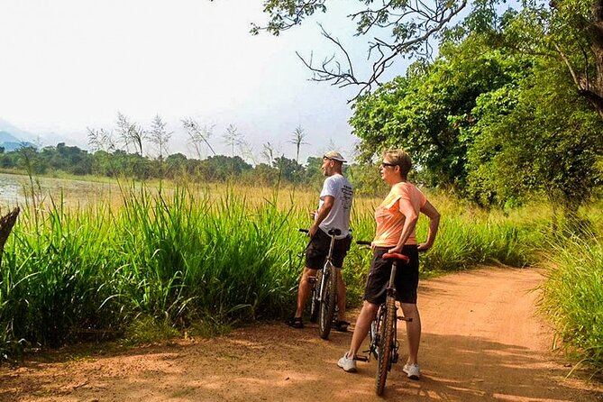 Cycling in Sigiriya Countryside, Sigiriya, SRI LANKA