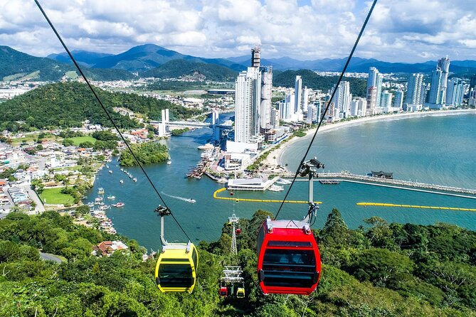 Enjoy hair-raising thrills on the Brazilian coast on this 8-hour Balneário Camboriú city tour from Florianópolis. Visit Unipraias Park (own expense) with a guide, and test your nerve on the cable cars, sled rides, and ziplines for which the park is famous. Zoom through the air at up to 60 kph and whizz down ziplines over 780 feet (238 meters) in length. This tour includes hotel pickup and drop-off at your Florianópolis hotel.