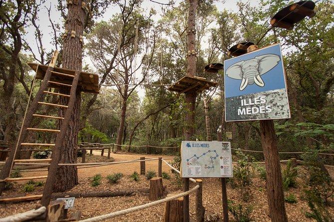 Entrada a Costa Brava Aventura Park, Girona, ESPAÑA