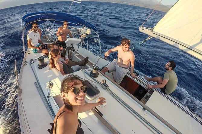 Set sails in the Messinian Bay, Kalamata, GRECIA