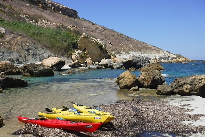 This exciting tour is part kayaking and part exploring on land, swimming in the sea, or just relaxing at the beautiful bays of Gozo or Comino! It's the ideal choice for those of you who want to spend a wonderful day out with the perfect balance between kayaking, exploring and relaxing.<br><br>We'll provide you with all the kayaking equipment you'll need as well as a sunglasses strap and the use of a dry bag. Be sure to bring sunscreen, your sunglasses, protection for your head, a pair of shoes you don't mind getting wet and at least 2 litres of water for each person in your party as well as lunch. For the Day Chillin' it's also a good idea to bring some comfortable, light walking shoes if you have them. <br><br>We don't always stop near a kiosk, so please be sure to bring your own snacks and lunch along.